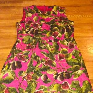 100% Authentic Dolce & Gabbana pinkfruit dress